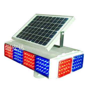 太阳能爆闪灯4组4面侧面2灯