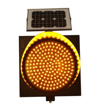 直径300MM太阳能黄闪灯