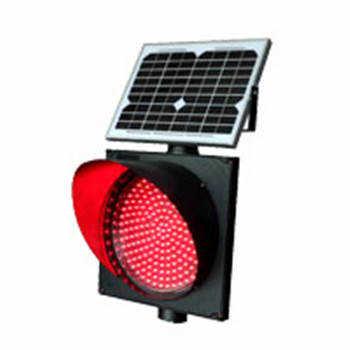 直径300MM太阳能红闪灯