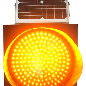 直径400MM太阳能黄闪灯