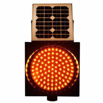 直径200MM太阳能黄闪灯