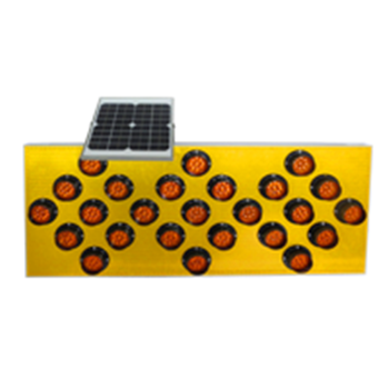 太阳能25灯施工导向牌