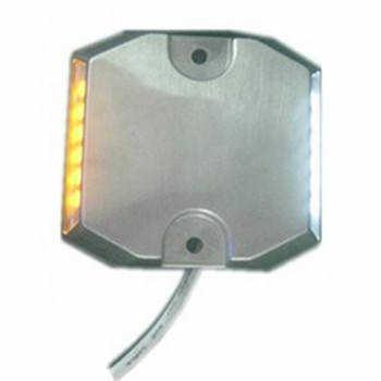 压铸铝黄白有源道钉灯