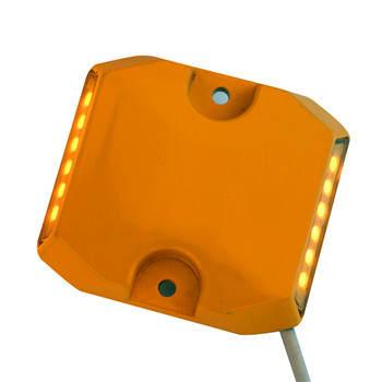 压铸铝双黄隧道诱导灯