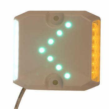 新款塑料隧道诱导灯带箭头