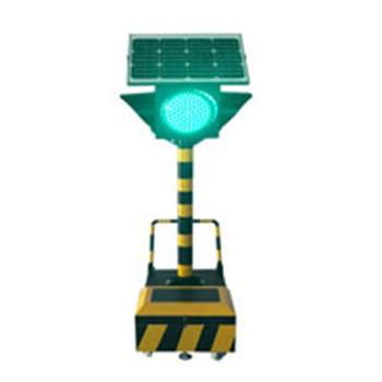 太阳能临时用满盘移动信号灯4面1灯