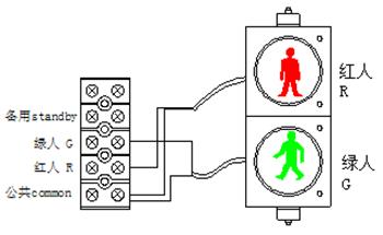 人行灯接线图.