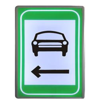 LED行车横洞指示标志
