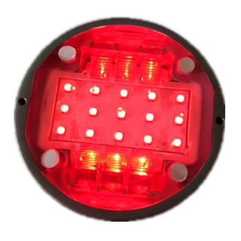 智能斑马线发光道钉红绿双色顶部带灯